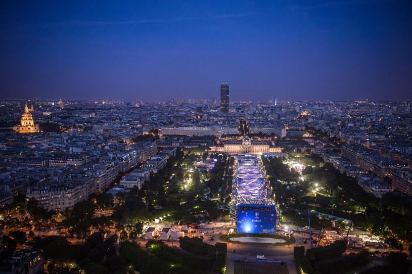 Strefa kibiców w Paryżu /PAP/EPA