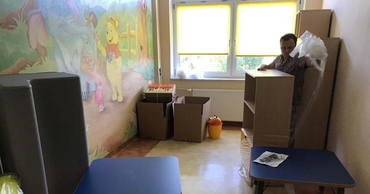 Strefa komfortu dla małych pacjentów szpitala w Parczewie