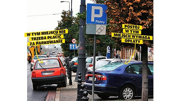 strefa płatnego parkowania /Motor