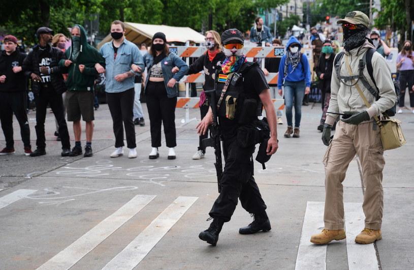 Strefa wolna od policji w Seattle /STEPHEN BRASHEAR /PAP/EPA