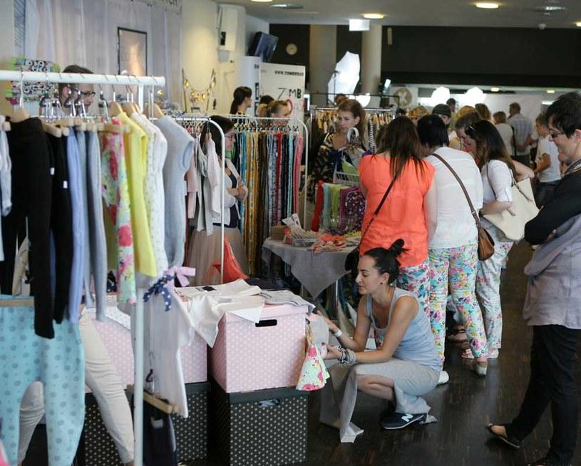 Strefa zakupów podczas Wrocław Fashion Meeting, fot. Michał Słomiński /materiały prasowe