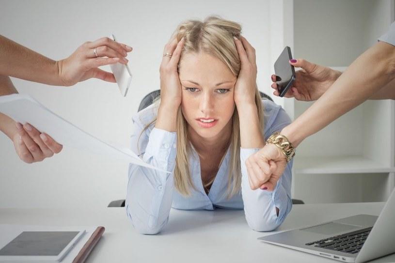 Stres jest destruktywny /123RF/PICSEL