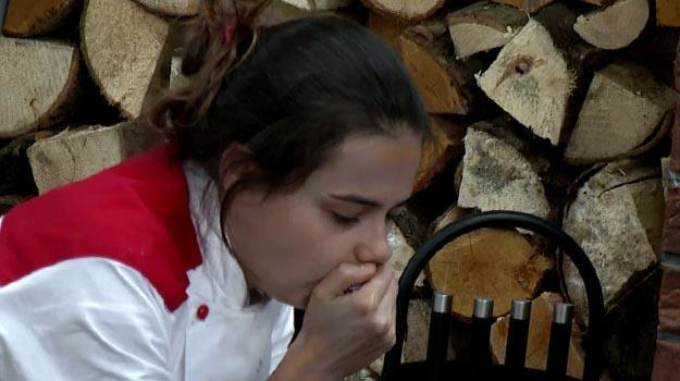 """Stres w """"Hell's Kitchen""""? Karolina Rudolf ma poważne problemy /Polsat"""