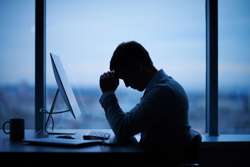 Stres w pracy /©123RF/PICSEL