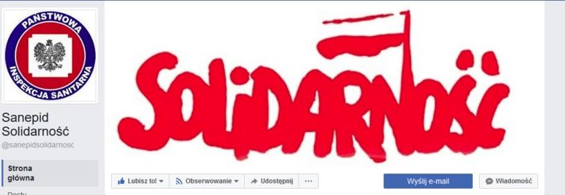 Strona informacyjna Inspekcji Sanitarnej na portalu społecznościowym /Interia.pl /facebook.com