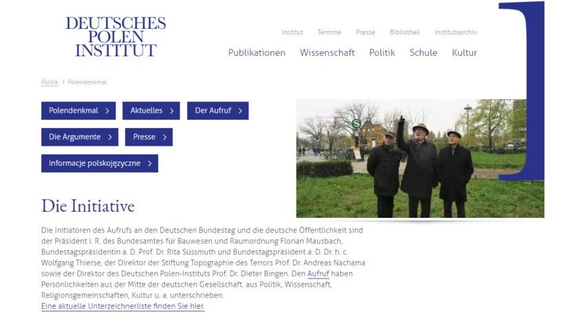 Strona internetowa inicjatywy /