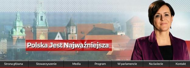 Strona internetowa PJN /