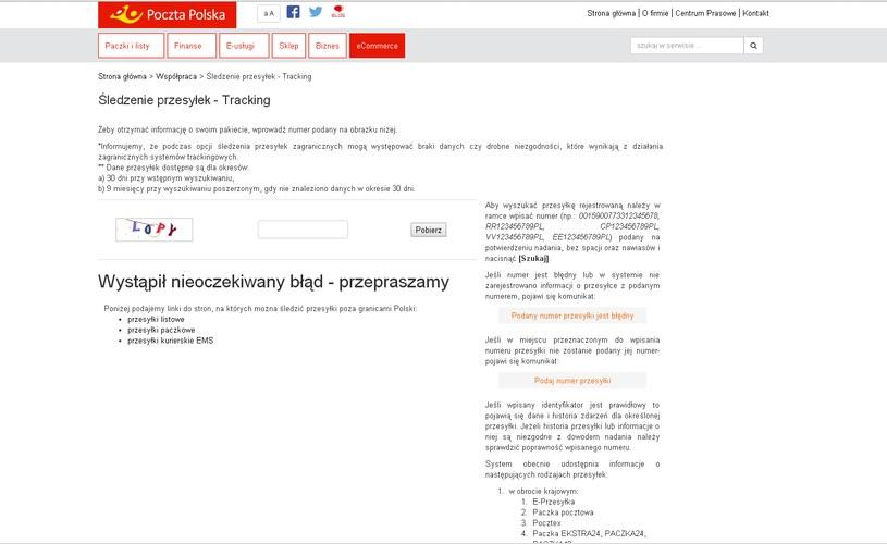 Strona, na którą zostaje przekierowany użytkownik po kliknięciu w link. Po przepisaniu kodu, nastąpi pobieranie złośliwego oprogramowania /materiały prasowe