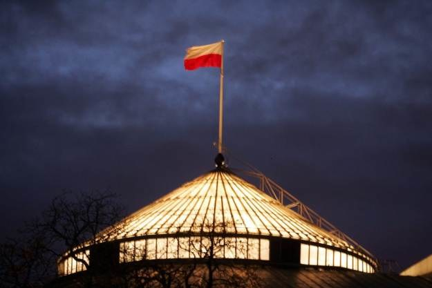 Strona polskiego Sejmu przestała działać po  godz 19:00 w sobotę   Fot. Witold Rozbicki /Reporter
