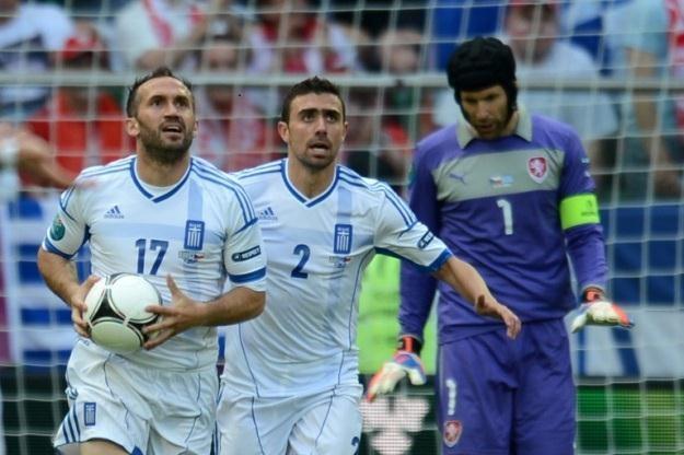 Strona reprezentacji Grecji miała być jedną z ofiar ataku /AFP