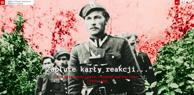 Strona www.polskiepodziemie.pl /