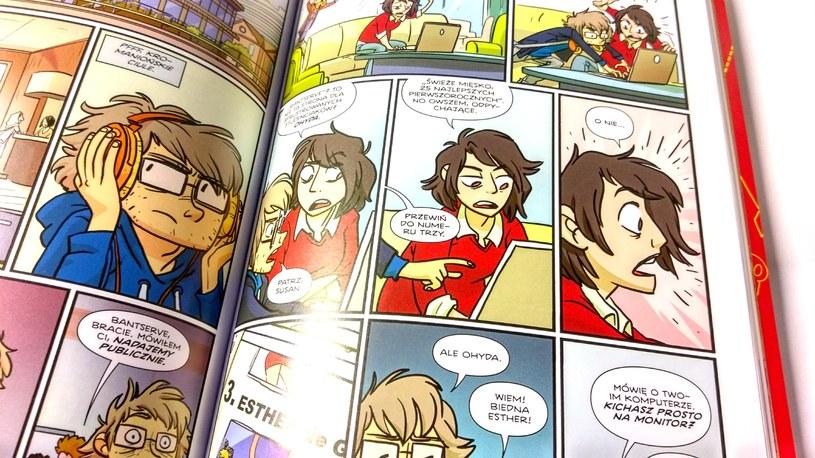 Strona z komiksu Giant Days /INTERIA.PL