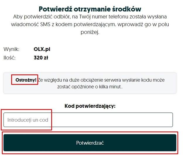 Strona zawiera wiele błędów językowych. To oszustwo / blog.olx.pl /