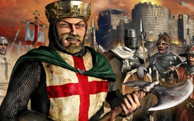 Stronghold: Crusader - fragment okładki /Informacja prasowa