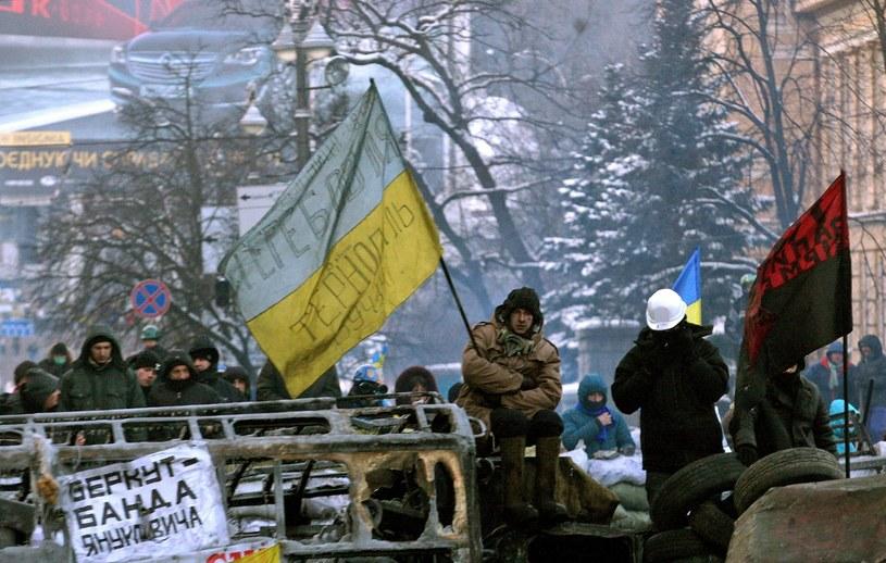 Strony porozumiały się w sprawie amnestii dla uczestników ulicznych protestów w stolicy Ukrainy. /ZURAB KURTSIKIDZE /AFP