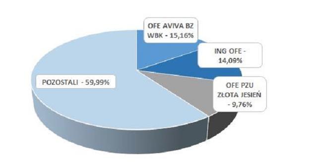 Struktura akcjonariatu Lubelskiego Węgla BOGDANKA S.A. /Informacja prasowa