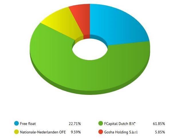 Struktura akcjonariatu /Informacja prasowa