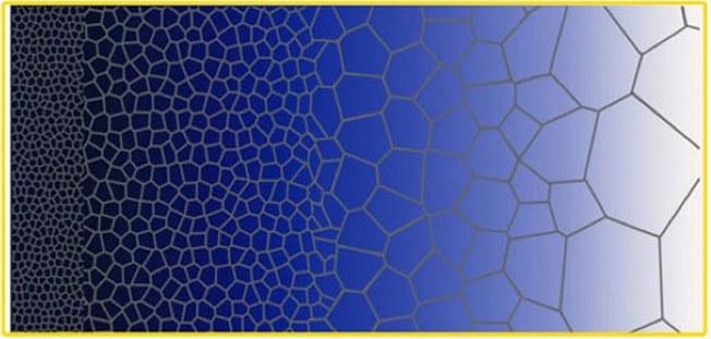 Struktura gradientowa - wizualizacja. Fot. Yuntian Zhu /materiały prasowe