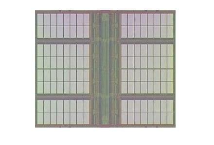 Struktura pamięci RAM  fot. NEC /kopalniawiedzy.pl