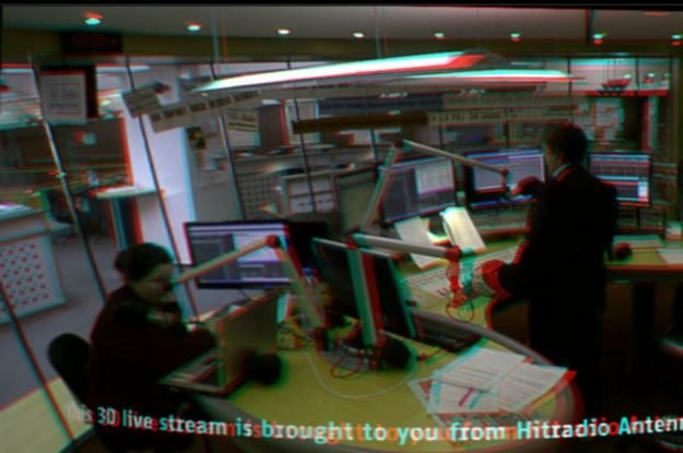 Strumień danych wideo 3D w czasie rzeczywistym jest transmitowany w jednym z wybranych formatów /HeiseOnline