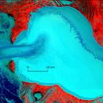 Strumień lodowy w Rosji - bardzo rzadkie zjawisko