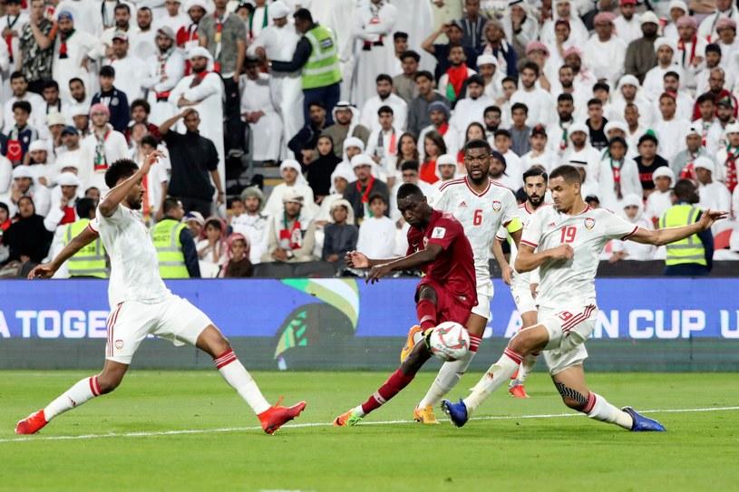 Strzela Almoez Ali z Kataru /AFP