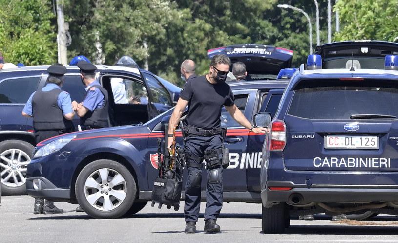 Strzelanina pod Rzymem /CLAUDIO PERI /PAP/EPA