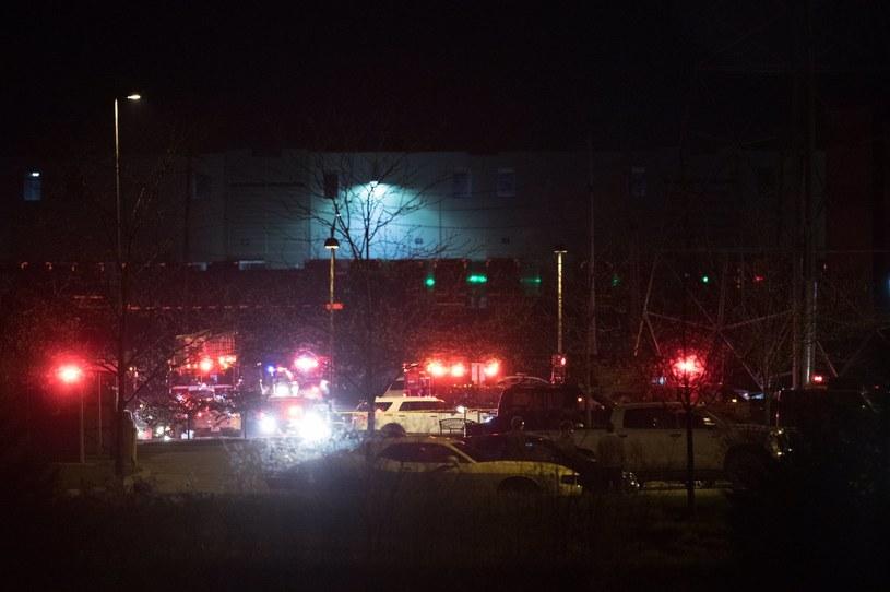Strzelanina w Indianapolis /Twiiter / Mykal McEldowney /Twitter