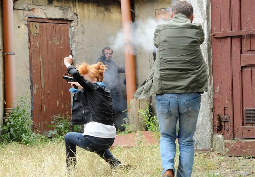 """Strzelanina w """"Komisarzu Aleksie"""" /Agencja W. Impact"""