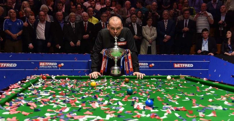 Stuart Bingham to aktualny mistrz świata /AFP
