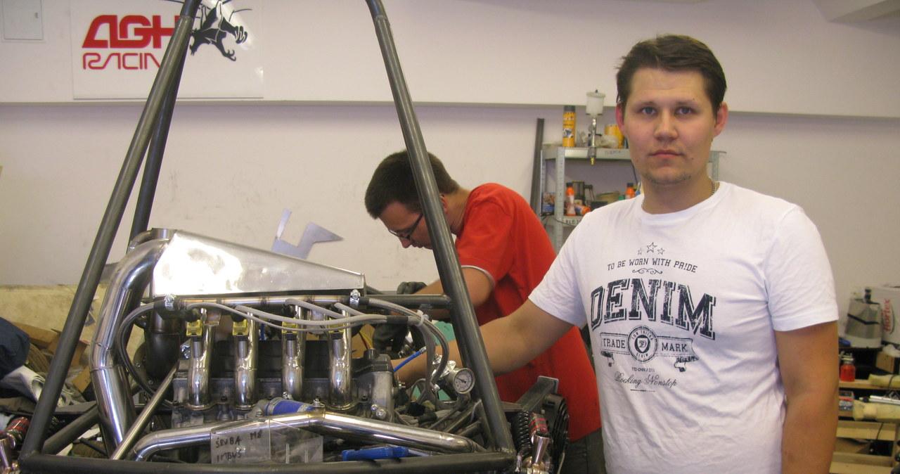 Studenci AGH mają swój bolid. Wystartują na Silverstone