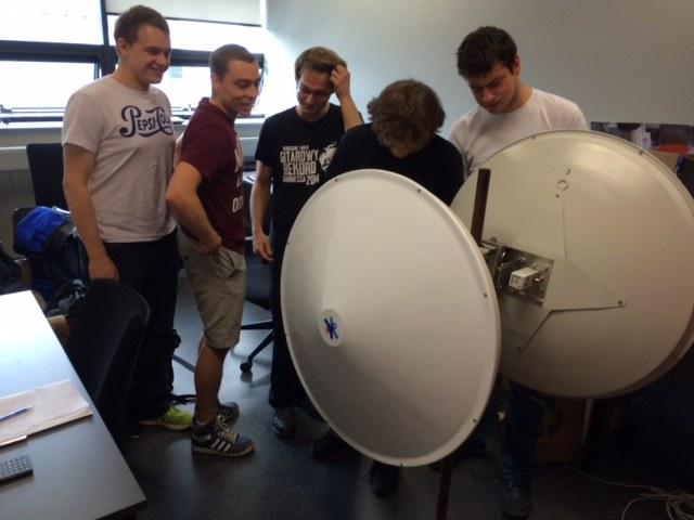 Studenci, którzy biorą udział w projekcie /Bartek Paulus /RMF FM