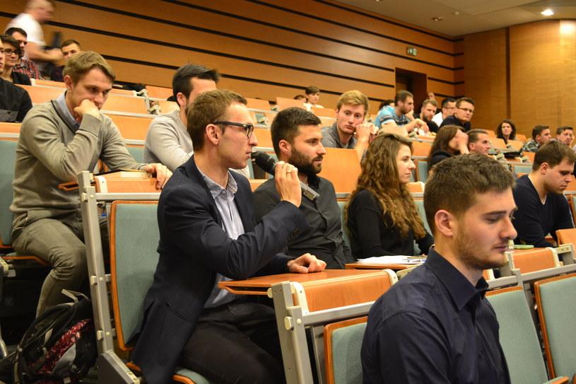 Studenci mogli zadawać ekspertom pytania /Materiał prasowy /INTERIA.PL