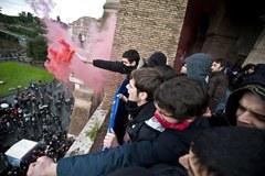 Studenci we Włoszech nie akceptują polityki rządu Berlusconiego