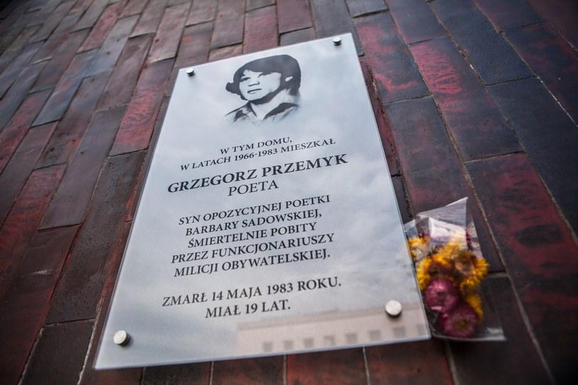 Studenci z NZS oddali hołd zamordowanym przez komunistów /Adam Burakowski /Reporter