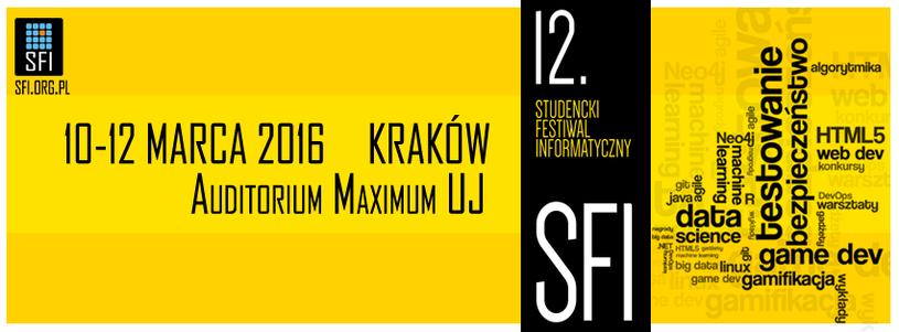 Studencki Festiwal Informatyczny /materiały prasowe