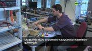 Student zbudował urządzenie pomiarowe z klocków Lego