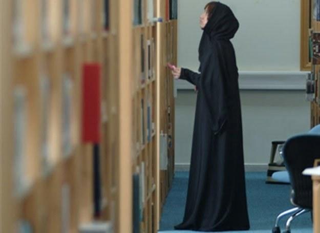 Studentka na uniwersytecie Zayed /AFP