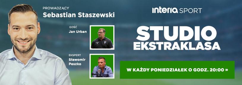 Studio Ekstraklasa - poniedziałek 20:00 /Interia.pl /materiały promocyjne