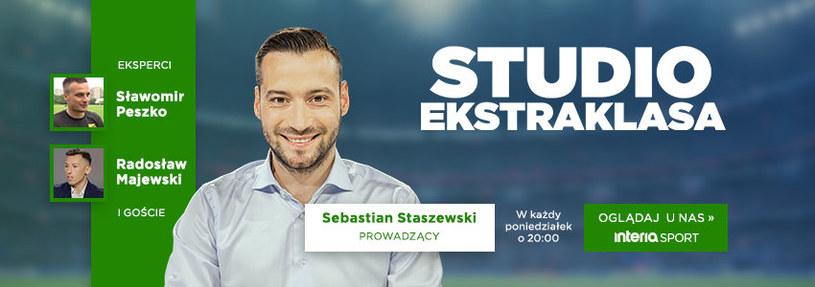 Studio Ekstraklasy w poniedziałek o 20:00 /interia /materiały promocyjne
