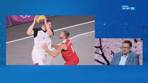 Studio Tokio. Adam Romański o polskiej drużynie koszykarzy 3x3:Mentalnie są na poziomie złotego medalu. WIDEO (POLSAT SPORT)