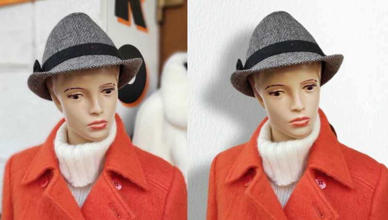 Studyjne efekty, jakie można uzyskać w trybie portretowym (po lewej oryginał, obok jedna z przeróbek) /INTERIA.PL