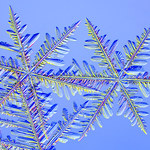 Stworzono bliźniacze płatki śniegu