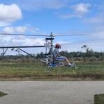 Stworzył w pełni elektryczny helikopter z siedmioma śmigłami ogonowymi