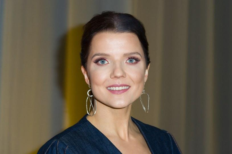 Styczeń 2019, Joanna Jabłczyńska podczas prezentacji ramówki TVN /Artur Zawadzki/REPORTER /East News