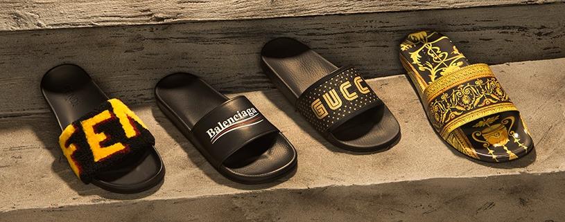 Stylowe klapki możesz nosić nie tylko na plażę czy basen! /materiały prasowe