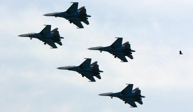 Su-27; zdj. ilustracyjne /AFP