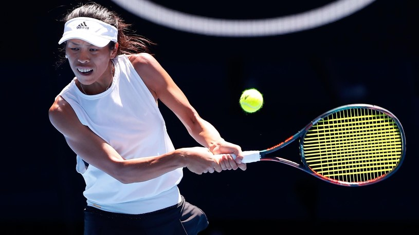 Su-Wei Hsieh takes on Angelique Kerber /Getty Images