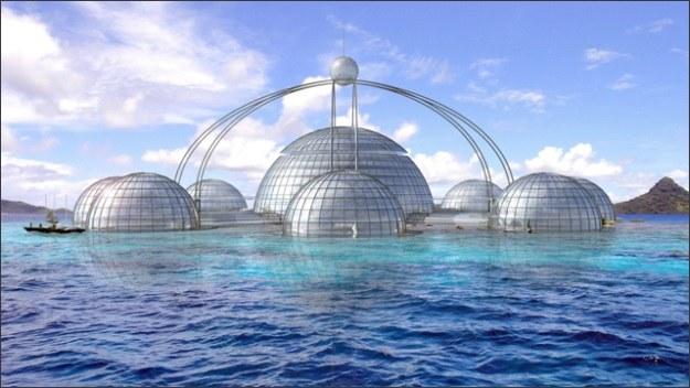 Sub-Biosphere 2 na powierzchni /materiały prasowe