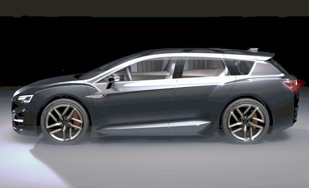 Subaru advanced concept tourer /